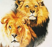 Pair of Kings by BarbBarcikKeith