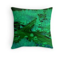 Vacation Time - In the Twilight Zone Throw Pillow