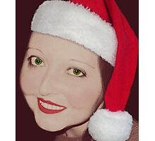 Little Mrs. Claus Photographic Print
