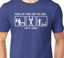 Flip a Table Unisex T-Shirt