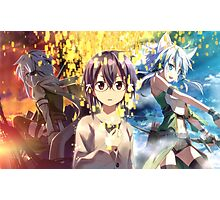 Sword Art Online - Sinon the Gamer Photographic Print