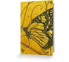 Medium Butterfly study 5 Greeting Card