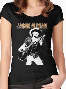 JASON ALDEAN Women's Fitted Scoop T-Shirt