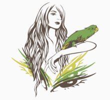 Parrot Girl - 1 by Vivian Lau