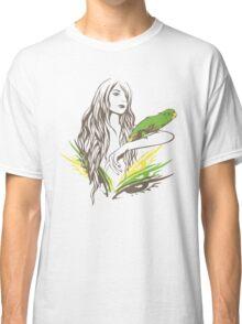 Parrot Girl - 1 Classic T-Shirt