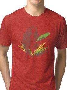 Parrot Girl - 1 Tri-blend T-Shirt