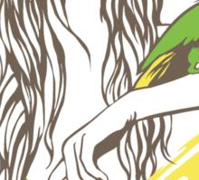 Parrot Girl - 1 Sticker