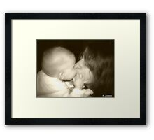 Sisterly Love Framed Print