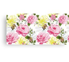 Elegance floral pattern. Spring mood. Canvas Print