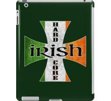 irish hardcore flag iPad Case/Skin