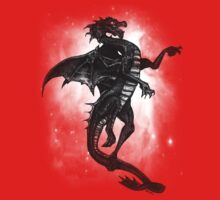 Black Dragon Tee by dimarie
