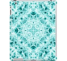 """Spirit of India: Magic Diamond"" in white and blue-turquoise iPad Case/Skin"