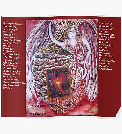 Angels Heart   cheryle Poster