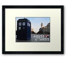 House of TARDIS Framed Print