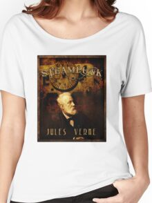 Steampunk Jules Verne Women's Relaxed Fit T-Shirt