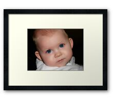 Enchanting Eyes Framed Print