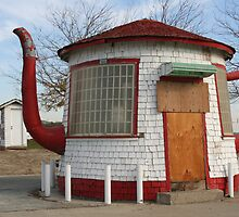 """Tea Pot Service Station"" by Lynn Bawden"