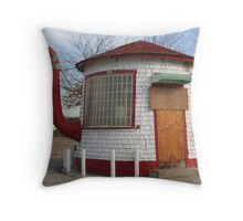"""""""Tea Pot Service Station"""" Throw Pillow"""