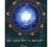 Stargate quote by darkhaineko