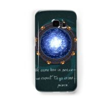 Stargate quote Samsung Galaxy Case/Skin