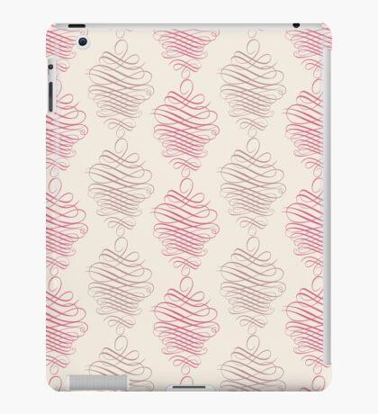 Luxury pink ornamental pattern iPad Case/Skin