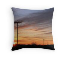 Wires. Throw Pillow