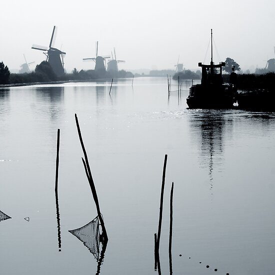 Dutch Mills by Sanne van Splunter