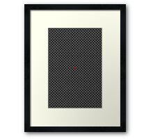 One In A Billion Framed Print