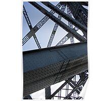 Harbour Bridge Construction Poster