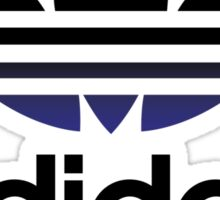 Japanese Adidas Logo Sticker