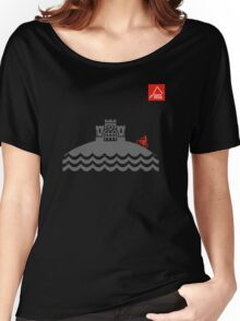 East Peak Apparel - Coast and Castle - Mountain Bike T-Shirt Women's Relaxed Fit T-Shirt