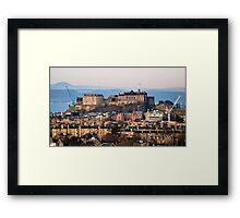 Edinburgh Castle - the other side. Framed Print