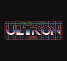 Avengers: Age of TRON Title T-Shirt