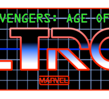 Avengers: Age of TRON Title Sticker