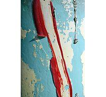 Peeling Paint 4 Photographic Print