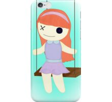 Swinging Doll iPhone Case/Skin