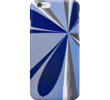 Shades of Blue Asbstract iPhone Case/Skin