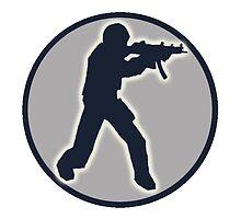 Counter Strike Logo by beary98