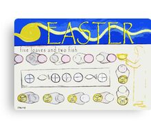 EASTER 17 Canvas Print