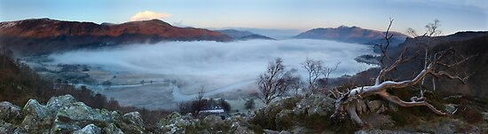 Derwent Water from Gowder Crag by Rich Gale