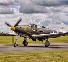 "Bell P-39Q Airacobra 42-19993 G-CEJU ""Brooklyn Bum - 2nd"" by Colin Smedley"