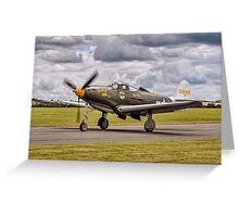 "Bell P-39Q Airacobra 42-19993 G-CEJU ""Brooklyn Bum - 2nd"" Greeting Card"