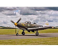 "Bell P-39Q Airacobra 42-19993 G-CEJU ""Brooklyn Bum - 2nd"" Photographic Print"