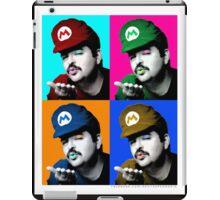 SexyMario - Warhol Homage iPad Case/Skin