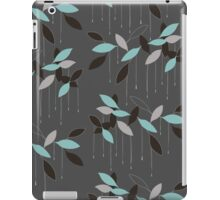 Abstract seamless pattern with leaves iPad Case/Skin