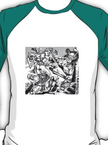 Pillar Men Twerk Team T-Shirt
