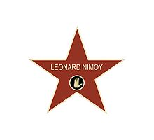 Leonard Nimoy Walk of Fame by rhodry