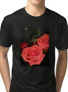 Roses 3 Tri-blend T-Shirt
