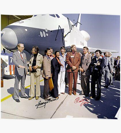Leonard Nimoy - Mr Spock Signed Photo - Star Trek Crew autograph Poster