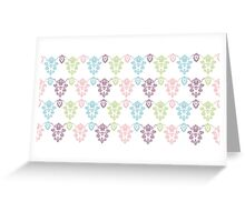 Colorful vintage ornament. Luxury pattern Greeting Card
